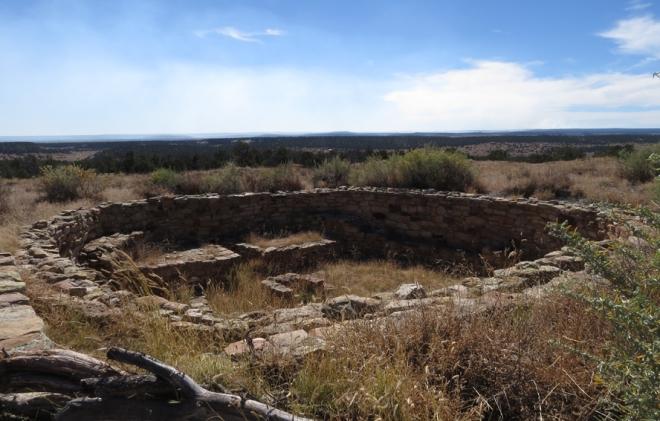 Atsinna ruins at El Morro.